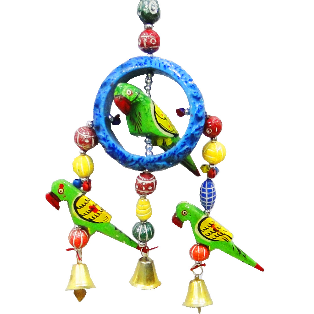 Decorative wall hanging parrot for a good vastu
