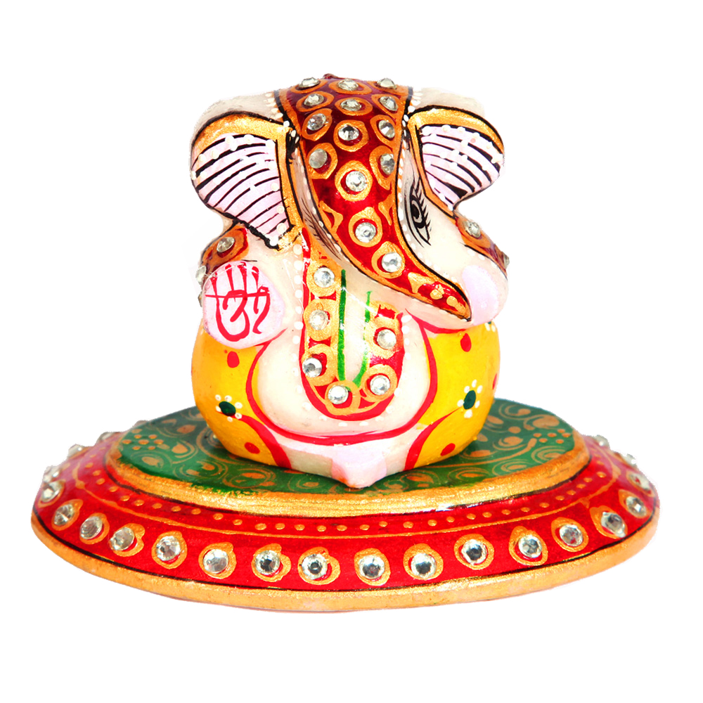 Ganesh oval plate