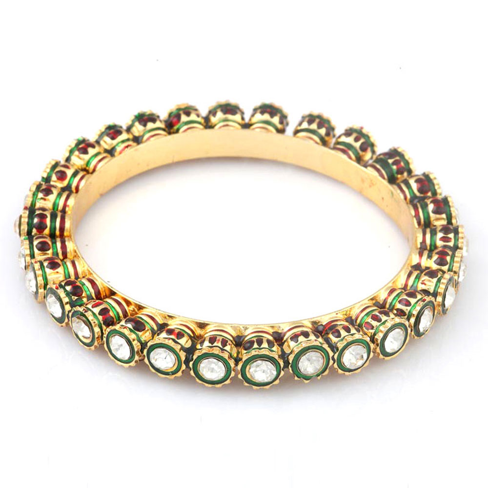Stunning Designs Of Kundan Bangles Only At Boontoon