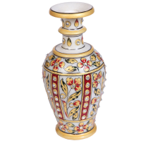 Traditional Marble Meenakari Handicrafts Flower Vase Online