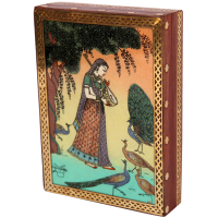 Aapno rajasthan ragini gujari gemstone jewellery box