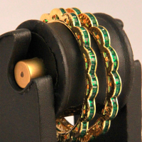 Brass metal based bangles