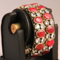 Broad based designer bangles
