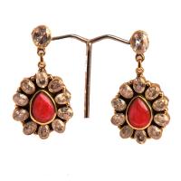 Budd shaped earrings