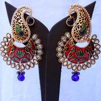 Exquisite minakari earrings