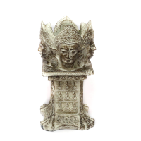 Four-faced Buddha T-Light Candle Stand