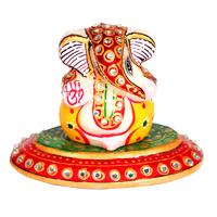 Ganesh oval plate