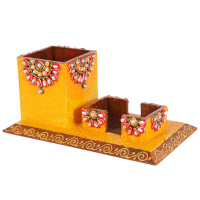 Kundan wooden office set