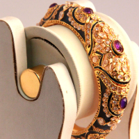 Minakari crafted bangles