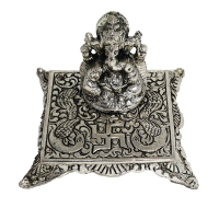 Oxidised Ganesh with Square chowki
