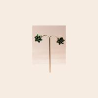 Petals shape studded earrings