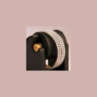 Thick base metallic bangles
