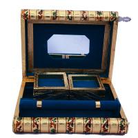 Traditional Meenakari Jewelry Box