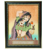 Wooden gemstone painting frame
