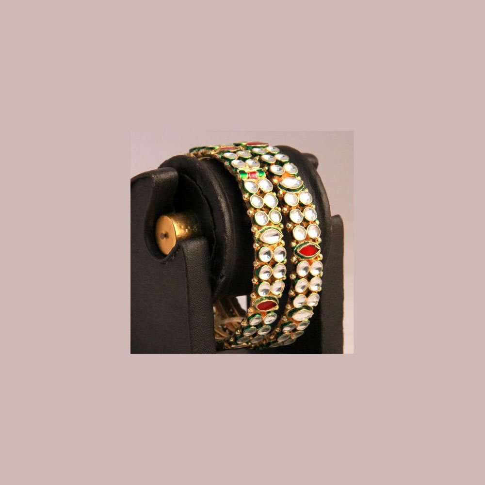 Traditional adorned bangles