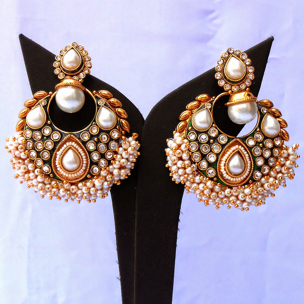 Make the most of the white pearls studded ram leela ...