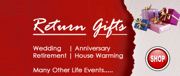 Return Gifts for Wedding, Anniversary, Marriage Return Gifts