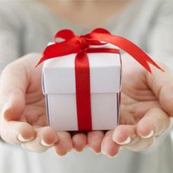Giving Return Gift