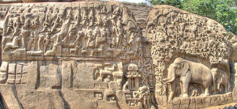Arjuna-Penance-in-Mahabalipuram