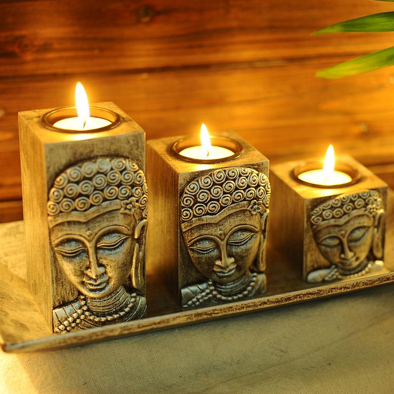 Thailand-font-b-Buddha-b-font-font-b-Buddha-b-font-Zen-wooden-font-b-Candle