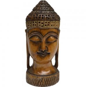 meditative-mahatma-buddha-head-figure-in-wood--bh-0388