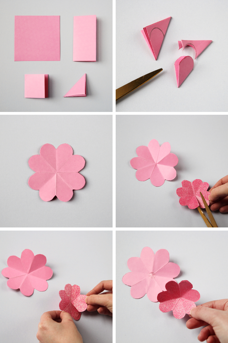 How To Make A Easy Origami Flower You Flowers Healthy