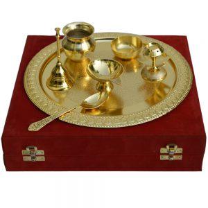 Pooja Thali For Karwa Chauth & Diwali
