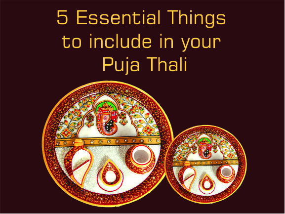 5 essential things to include in pooja thali