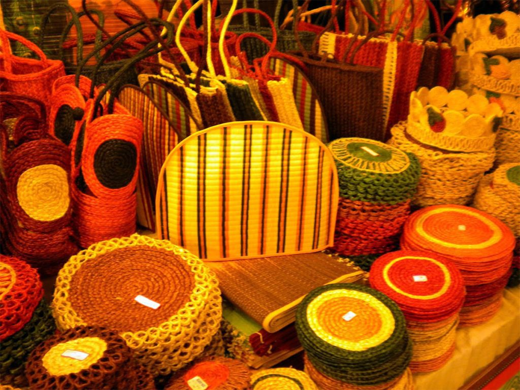 Handicraft items are kinder to the environment