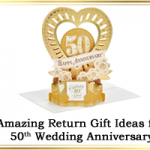 50th Anniversary Return Gifts