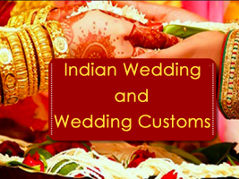 Indian wedding and wedding customs