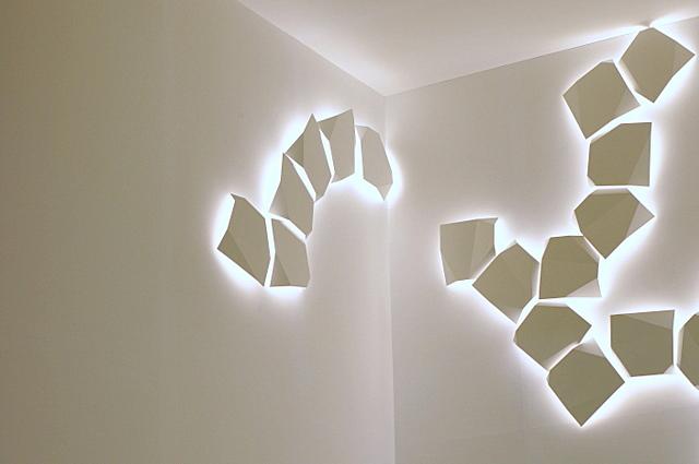 Creative wall lighting