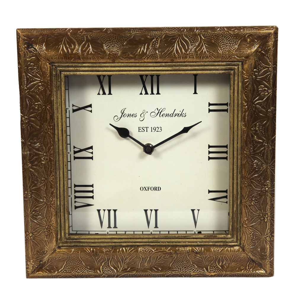 Antique look wall clock