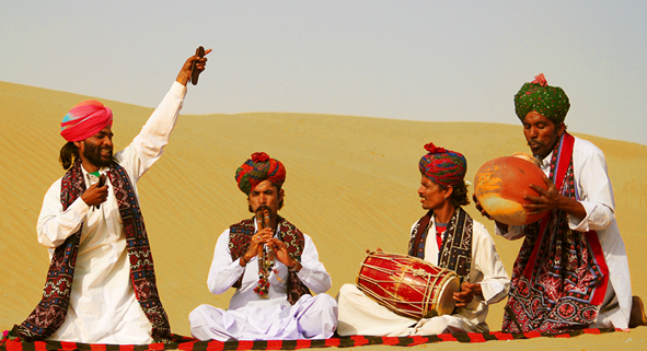 Rajasthani folk song culture