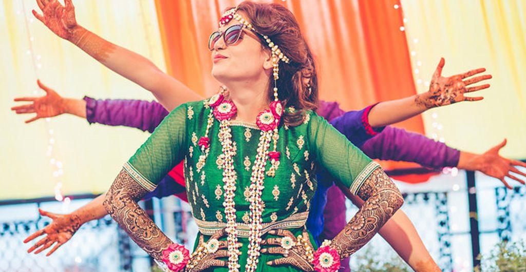 Mehendi dance function
