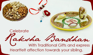 Send Rakhi Gift Hampers Online
