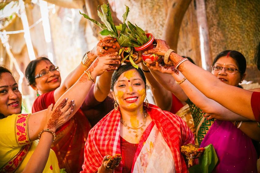 Engagement Tradition Bengali
