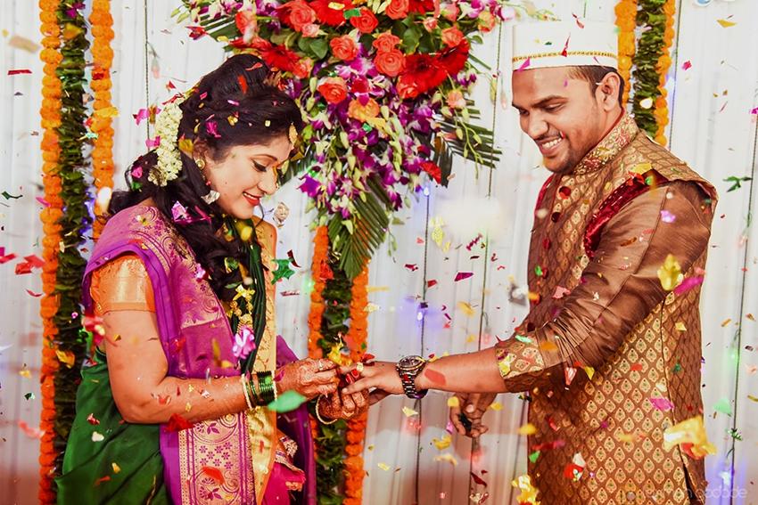 Engagement Tradition Marathi