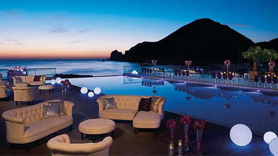 Mexican wedding resort